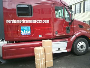 North America Mattress Corp. Shipping Truck